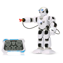 LE NENG TOYS K1 Smart RC Robots Intelligent Programmable Humaniod 2.4G Remote Control Robot Shoot Music Dance Arm-swing Function