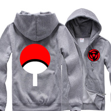 3Colors Anime Naruto Sasuke Uchiha Sharingan Hoodie Cosplay Costume Hooded  Cardigan Jacket Daily Casual Sweatshirts