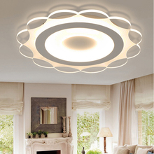 New Creative Round Ultra Thin Petal LED Iron Acrylic Ceiling Light Modern Multi-specification Lighting Decoration Lamp AC220V