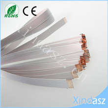 (20pcs/lot) High quality 7 contacts FFC 1.25mm 1cm width 55cm long Power Ribbons airbag FFC cable