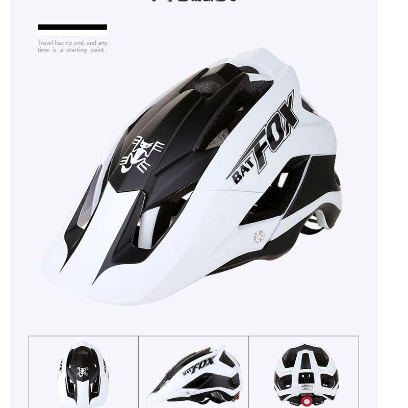 BATFOX Women Men Cycling shark Helmet cycling helmets road bike Bicycle casco specialiced ciclismo mtb hombre protone helmet 4