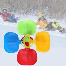 baby stroller winter snow ski stroller Kids Multi-Color Skiing Boards Children Snow Sledge Sled(China)