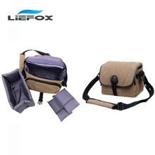 Video Photo Bag Digital Camera Bag Padded Backpack Bag Case Waterproof Shockproof Small Bags for Canon Nikon DSLR