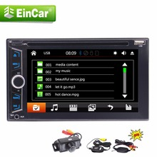 "Double 2 Din In Dash 6.2"" Car DVD CD GPS Navigation Multimedia Head unit Capacitive Touch Screen/Bluetooth/GPS/USB/AM FM+camera(China)"