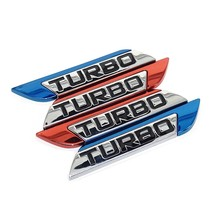 3D Car Emblem Sticker TURBO METAL GRILL Rear Trunk Car Badge for Audi BMW Ford focus VW skoda seat Peugeot lada Renault Hyundai