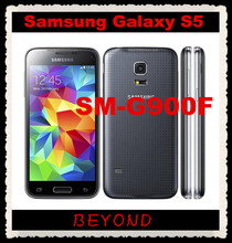 "Samsung Galaxy S5 Original Unlocked 3G&4G GSM Android Mobile Phone SM-G900F Quad-core 5.1"" 16MP WIFI GPS 16GB Dropshipping"