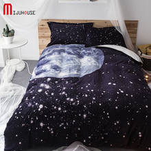 Earth's sky Coral Fleece Bedding Set Soft Crystal Velvet Winter Thickening Solid Color Double Short Flannel Bed Duvet Covers Set(China)