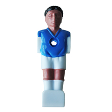 PROMOTION!Football Player of table soccer Foosball Man - Royal blue(China)