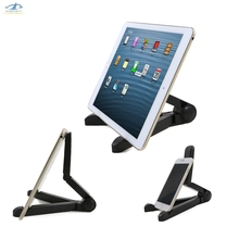 [HFSECURITY] Portable Phone Stand Adjustable Tablet Holder for iphone ipad Samsung Huawei Xiaomi Portable Monitor Stand(China)