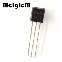 MCIGICM 100pcs C945 2SC945 0.15A 50V NPN in-line triode transistor TO-92(China)