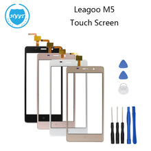 LEAGOO M5 Original Sensor Touch Screen Perfect Repair Parts Touch Panel+Tools For LEAGOO M5 Free Shipping-3M Tape
