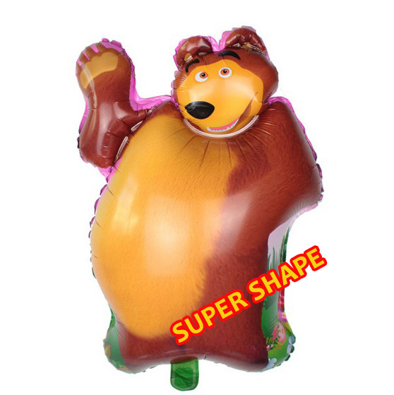 Фото маши и медведь из шаров