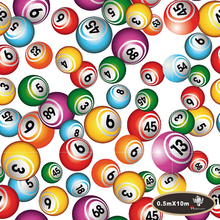NO.HFJ0193,Width 0.5M,10m length hydro dipping  colorful balls  hydrographics Water Transfer Printing  Hydrographic Film
