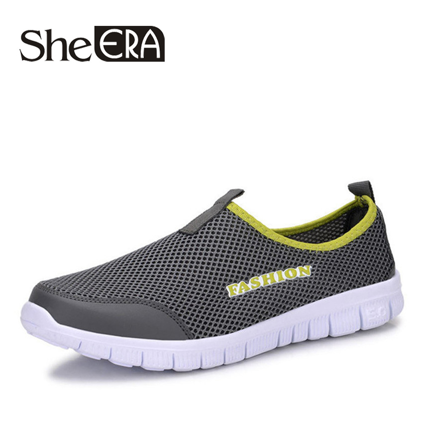 She Era 2017 Summer Style Men Shoes Male Casual Slip On Network Shoe Man Breathable Mesh Shoes Men Loafers Size Plus XMR199<br><br>Aliexpress