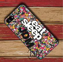 Sticker Bomb Eat Sleep JDM case for iphone 4s 5s SE 5c 6 6s 7 Plus iPod 5 6 Samsung s3 s4 s5 mini s6 s7 s8 edge plus Note 3 4 5