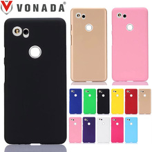 Vonada PC Hard Case for Google Pixel XL 2 Colorful Froste Matte Slim Plastic Shell Rubber Hard Phone Back Case Cover(China)
