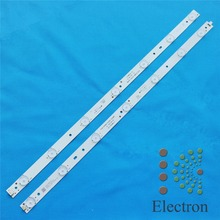 2set 992mm*12mm 14leds LED Backlight Lamps LED Strips w/ Optical Lens Fliter 21V for 50 inch TV Monitor Panel New