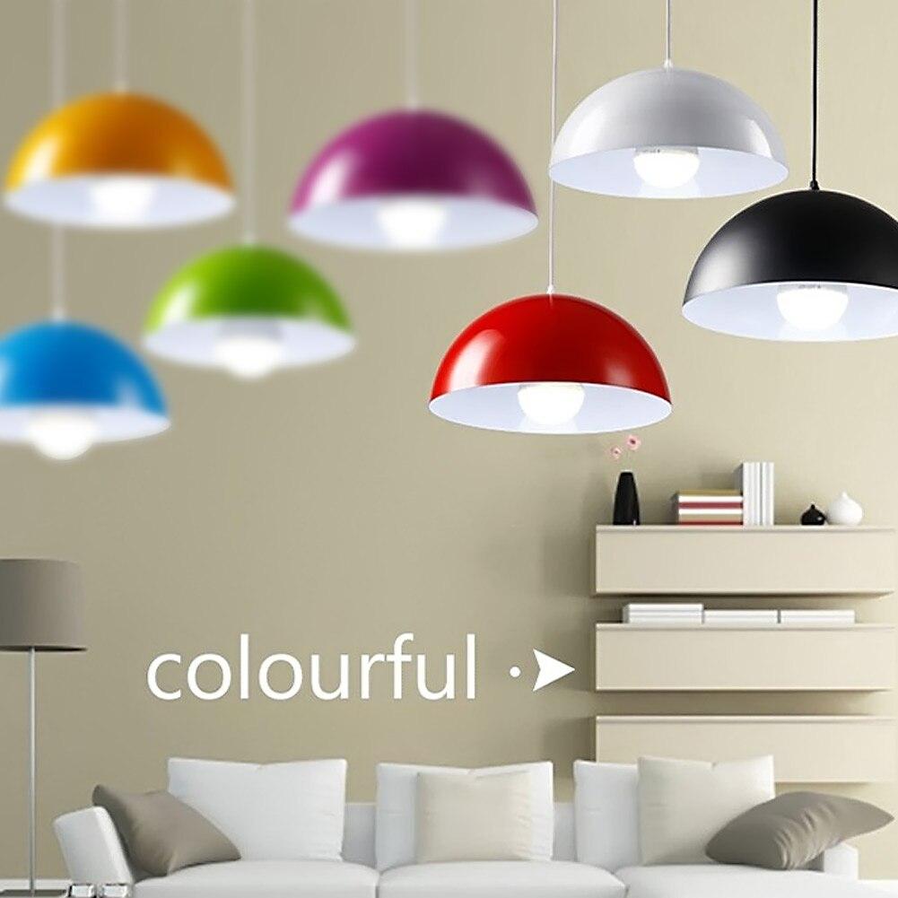 Modern aluminum semicircle LED handing lamps Pendant Lights Bar Restaurant Bedrooms Large Shopping Mall Countryside Hanging Lamp<br>