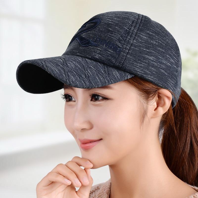 Hat female baseball cap lovers cap autumn casual all-match sun hat autumn and winter outdoor sports cap thick woolen winter hats<br><br>Aliexpress