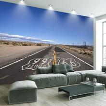 Modern TV background wallpapers waterproof mural 3D photo wallpaper for living room country road wall paper
