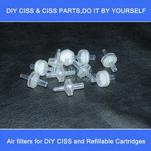 60 pcs CISS  Air Filter  for ink tank to avoid dust,Continuous Ink Supply System air filter,diy ciss ink tank air filter