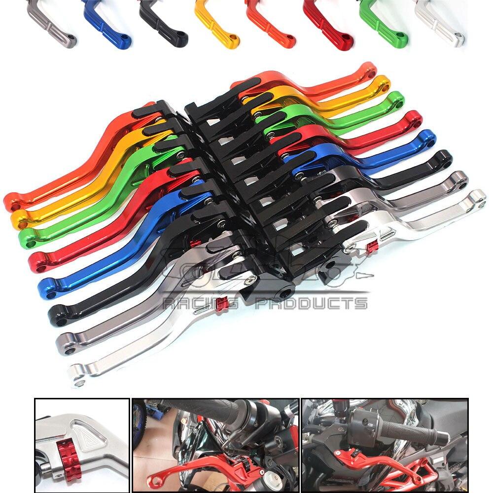 2016 New Thumb Wheel Roller Adjuster CNC Short Brake Clutch Levers For Ducati 1198/S/R 848 /EVO 749/S/R MV Aprilia RSV MILLE / R<br>