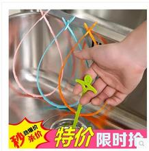Smiling Kitchen Pipeline Dredge Hook Sewer Toilet Drainer Household Water Tank Drainage Clearing Hook Cleaning Hook(China)