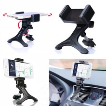 Black Car Air Vent Mount Cradle Holder Stand For Mobile Smart iPhone iPhone 5 iPhone 4 4S Pod Mobile phone PDAs GPS(China)