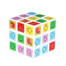 Kids Toys Educational Puzzle Magic Cube Game Learning Resources Brinquedo Menina Square Spinner Cubos Toys For Children 60D0807