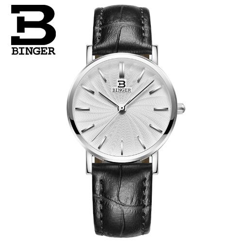 Switzerland 2017 New Women Quartz watch Binger Wrist Watches Top Brand Luxury Geneva Watches Relogio Masculino Hours<br>