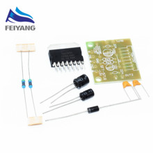 1set TDA7297 amplifier board spare parts dc 12v grade 2.0 dual audio encoding 15w electronic diy kit(China)