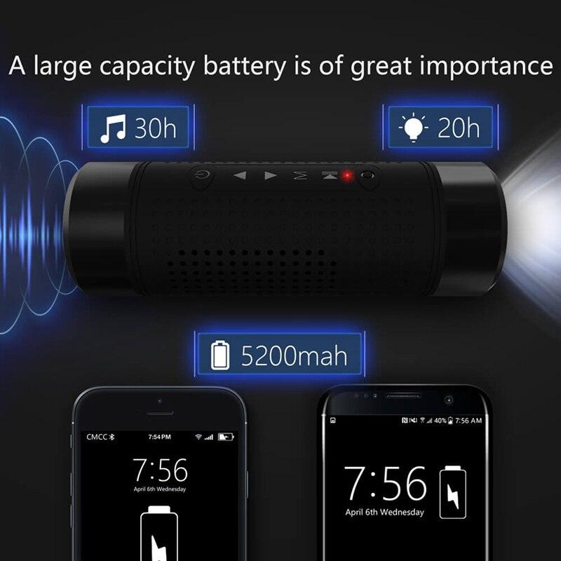 Jakcom OS2 Bluetooth Speaker 5200mAh Power Bank Bicycle Portable Speaker FL