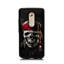 Skull Skeleton Kerchief Art Printed Soft Rubber Phone Cases For ZTE AXON 7 Mini Hard Plastic Cellphone Back Cover for ZTE AXON 7