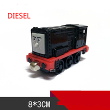 Thomas& Friends- Black Diesel  Locomotive Diecast Metal Train Toys  Toy Magnetic Models Toys For Kids Children Xmas Gifts