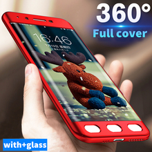 Buy Luxury 360 Protection Cases Xiaomi Redmi NOTE 4 4X 4a case matte PC hard full cover Redmi NOTE 5a Phone Case whit GLass for $2.63 in AliExpress store