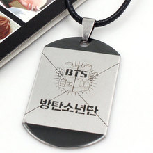 2017 new BTS hot stars surrounding Popular south Korean star BTS bulletproof youth club logo Pendant(China)