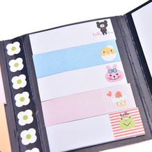 Cute Kawaii Sticky Notes Paper Bookmarks Animal Cat Panda Planner Stickers Stationery Sticky Notes Memo Pad School Supplies
