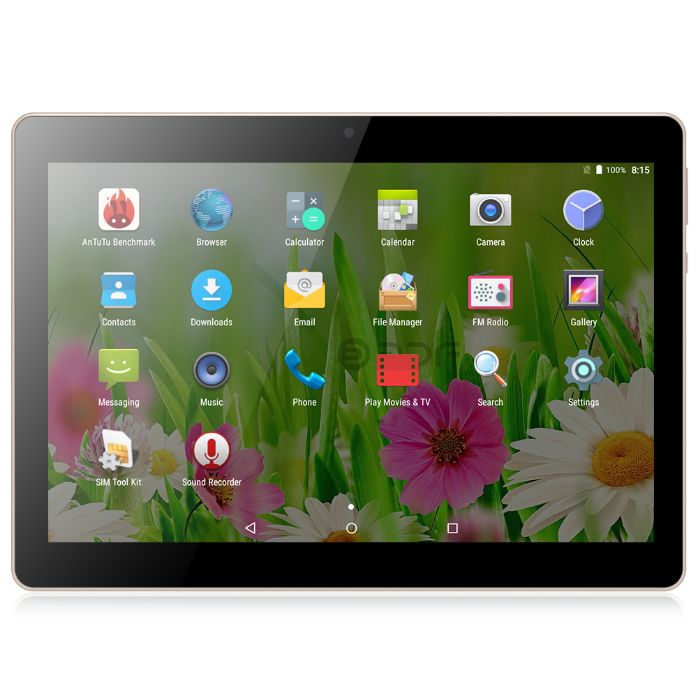BDF 10 Inch Original 3G Android Tablet Pc computer Tabltte Phone Call SIM Card Quad core 2GB 16GB Tablet pc android 6.0(China)
