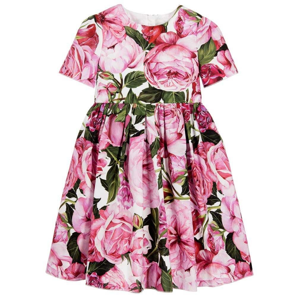 FANAIDENG 3-14yrs Hot  Baby Girls Flower  Dress High quality Party Princess Dress Children kids clothes 28<br>