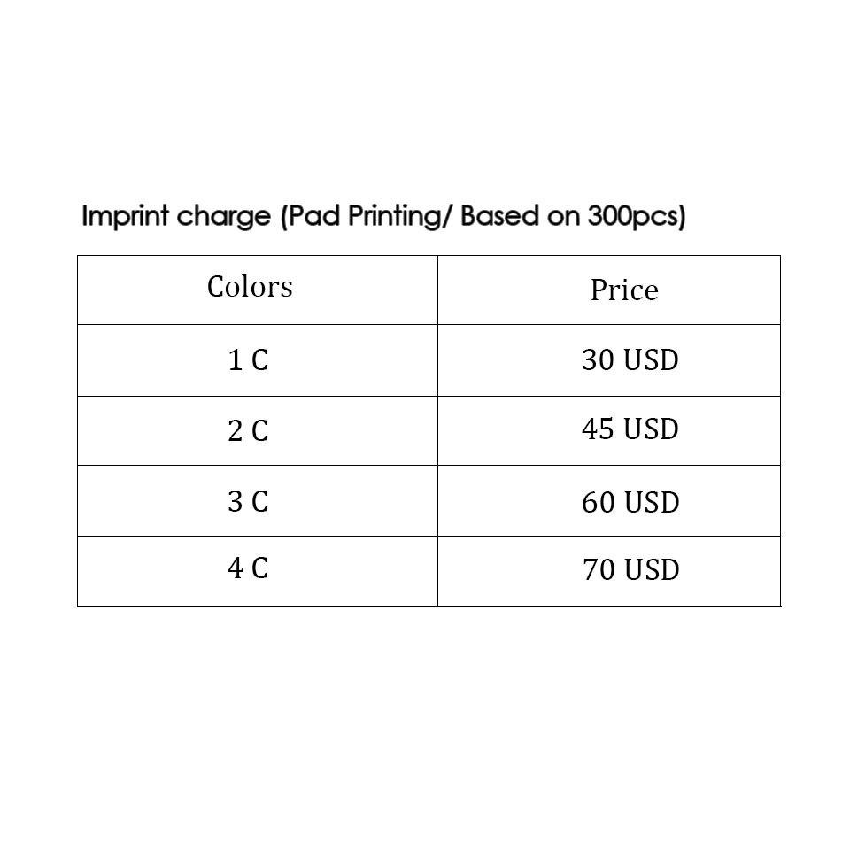 Promotional Custom Pen Imprint Charge<br>