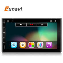 2017  2 Din 100% Pure Android 6.0 Universal Car Player Pc Gps Navigation Stereo Video Multimedia Capacitive Screen