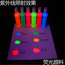 12 colors for choose, 10g per color Fluorescent Powder Pigment for Paint Soap Neon powder Cosmetic Lipstick Nail Art Polish(China)