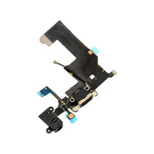 Charging Charger Port USB Dock Connector Flex Cable For iPhone 5 with Headphone Jack Mic Flex Cable