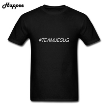 Team Jesus T Shirt Men Teenage Casual Short Sleeve 100% Cotton T-Shirt Round Neck Tops Tees Clothing Team Jesus Youth Tshirt