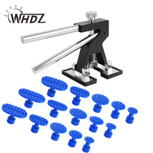 WHDZ Black Mini Dent Lifter Paintless Dent Repair Tools Hail damage repair tools Car Body Dent Repair Hand Tool PDR Glue Tabs(China)