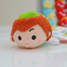 Tsum Tsum Mini Peter Pan Pirates Captain Hook Mickey minnie Plush Toy Kawaii Cute Phone Screen Cleaner