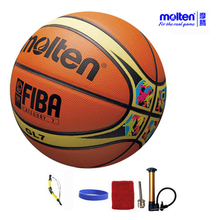 original molten basketball ball GL7 GL7X NEW Brand High Quality Genuine Molten leather Material Official Size7 Basketball