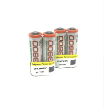 4pcs Original rechargeable batteries gp aa ni mh nimh 1.2v 3600mAh GP 3600 pilha recarregavel aa ni-mh for digital camera toys