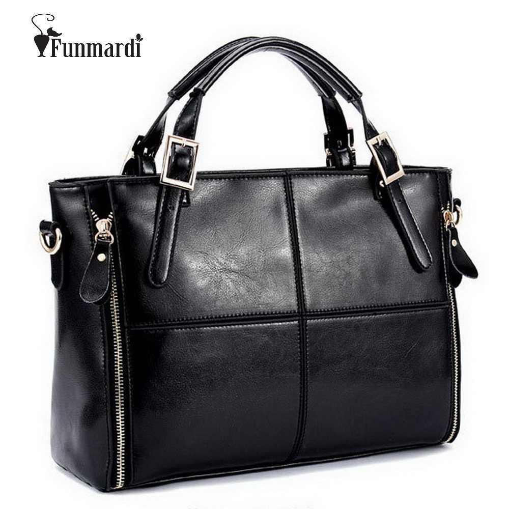 950eece038a2 FUNMARDI роскошные сумки женские сумки дизайнерские спилок кожаные сумки  женские сумки брендовые сумки с верхней ручкой