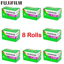 8 Roll/lot Fujifilm C200 Color 35mm Film 36 Exposure for 135 Format Camera Lomo Holga 135 BC Lomo Camera Dedicated(China)
